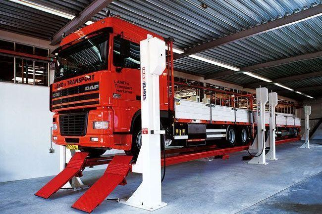 Stertil-Koni focuses on the heavy duty vehicle lifts market