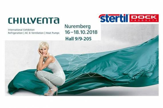 Stertil Dock Products expose à Chillventa 2018, Nuremberg