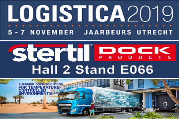 Stertil Dock Products op Logistica 2019