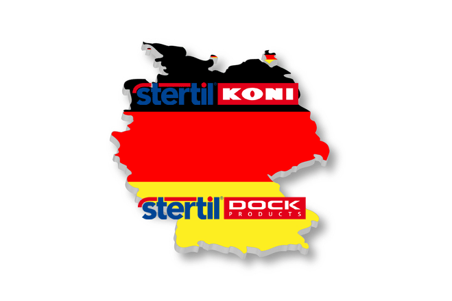 Stertil-Koni and Stertil Dock Products Deutschland Established 1999