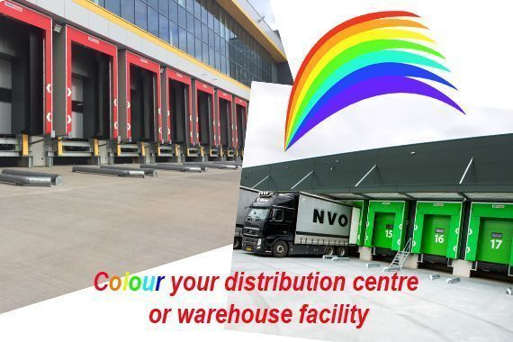 rainbow colours for your distribution centre