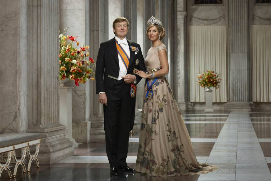 His Majesty King Willem-Alexander and Her Majesty Queen Máxima