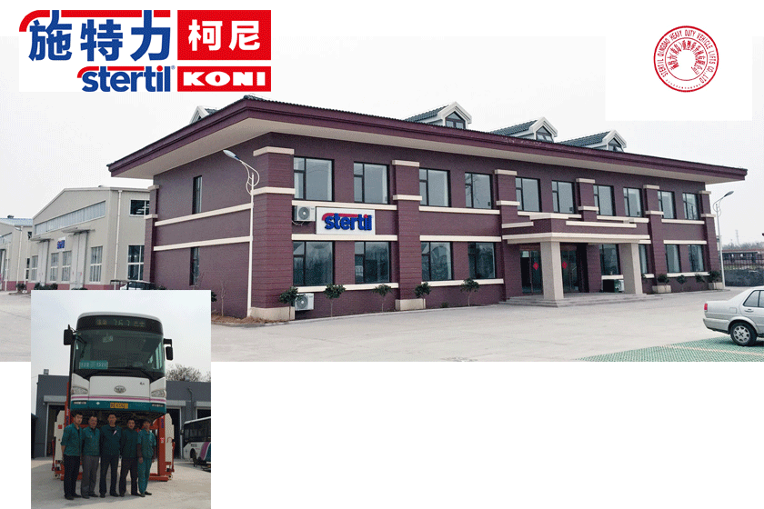 Stertil Qingdao China established