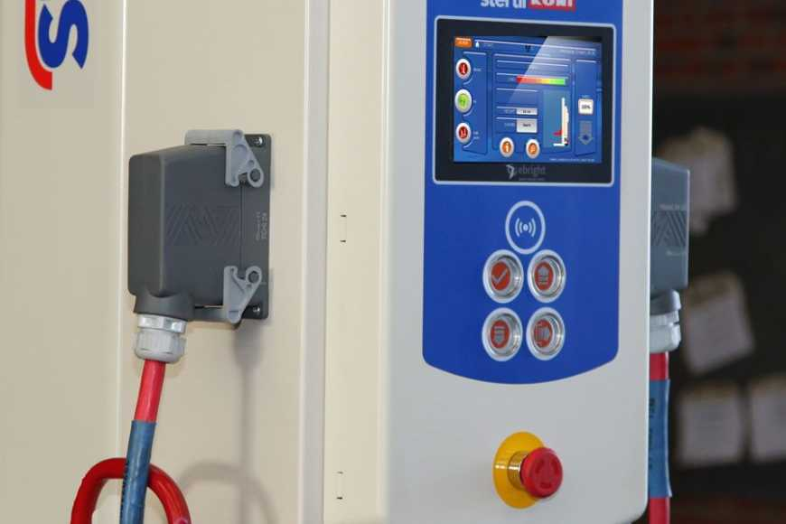 mobile column lift with ebright Smart Control System